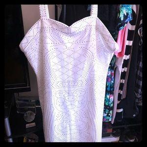 🆕 White Studded Dress